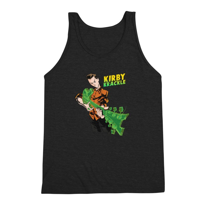 Kirby Krackle - Ring Capacity Logo Men's Triblend Tank by Kirby Krackle's Artist Shop