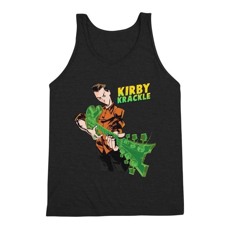 Kirby Krackle - Ring Capacity Logo Men's Triblend Tank by Kirby Krackle's Artist Shop