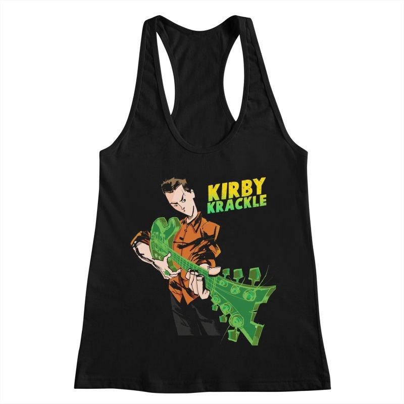 Kirby Krackle - Ring Capacity Logo Women's Racerback Tank by Kirby Krackle's Artist Shop