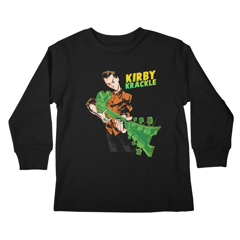 Kirby Krackle - Ring Capacity Logo Kids Longsleeve T-Shirt by Kirby Krackle's Artist Shop