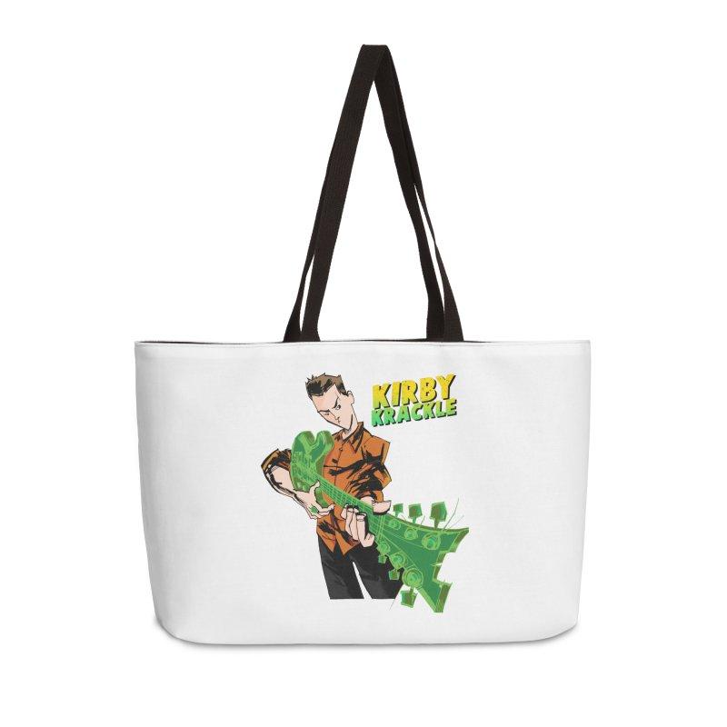 Kirby Krackle - Ring Capacity Logo Accessories Weekender Bag Bag by Kirby Krackle's Artist Shop