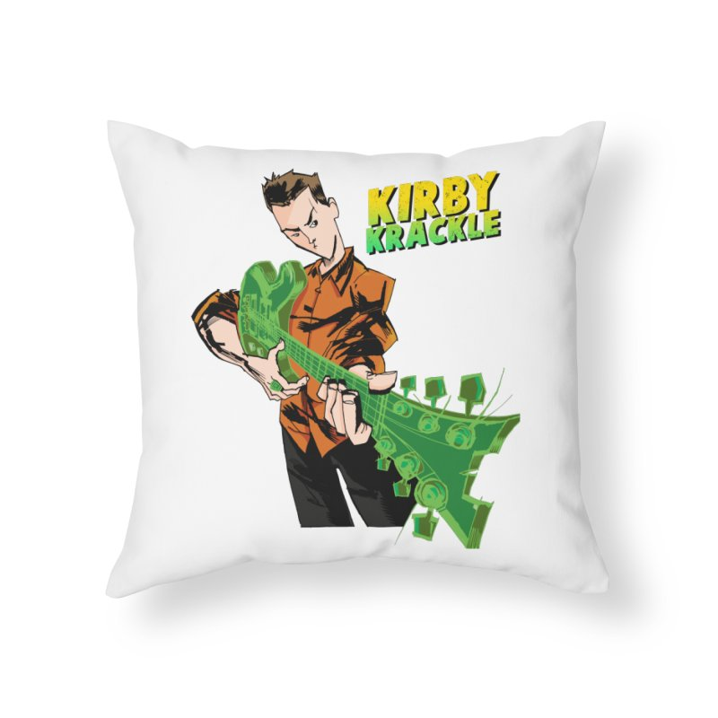 Kirby Krackle - Ring Capacity Logo Home Throw Pillow by Kirby Krackle's Artist Shop