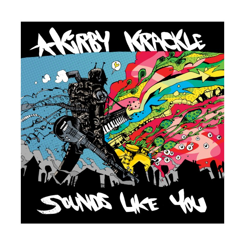 Kirby Krackle - Sounds Like You Album Cover Women's Fitted T-Shirt by Kirby Krackle's Artist Shop