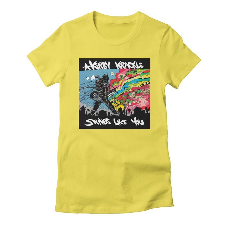 Kirby Krackle - Sounds Like You Album Cover Women's T-Shirt by Kirby Krackle's Artist Shop