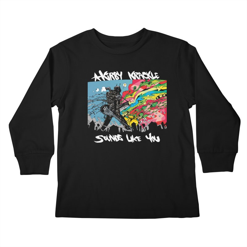 Kirby Krackle - Sounds Like You Album Cover Kids Longsleeve T-Shirt by Kirby Krackle's Artist Shop