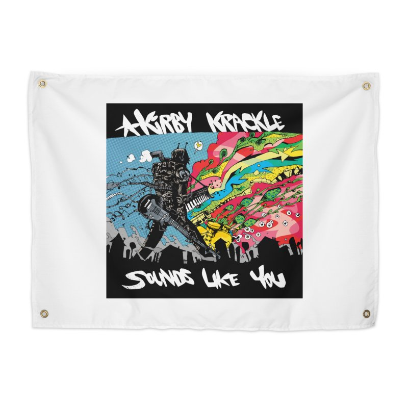 Kirby Krackle - Sounds Like You Album Cover Home Tapestry by Kirby Krackle's Artist Shop