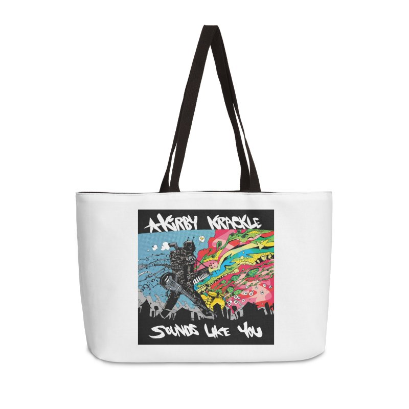 Kirby Krackle - Sounds Like You Album Cover Accessories Weekender Bag Bag by Kirby Krackle's Artist Shop