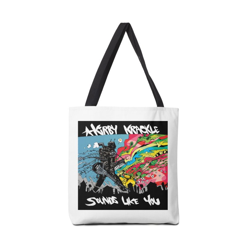 Kirby Krackle - Sounds Like You Album Cover Accessories Bag by Kirby Krackle's Artist Shop