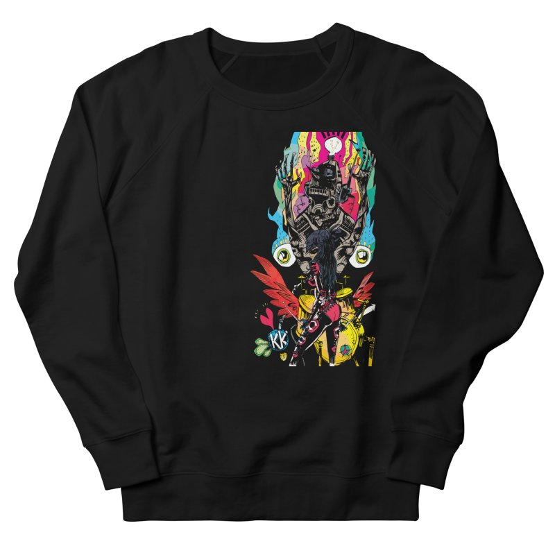 Kirby Krackle - Electric Man Logo Men's Sweatshirt by Kirby Krackle's Artist Shop