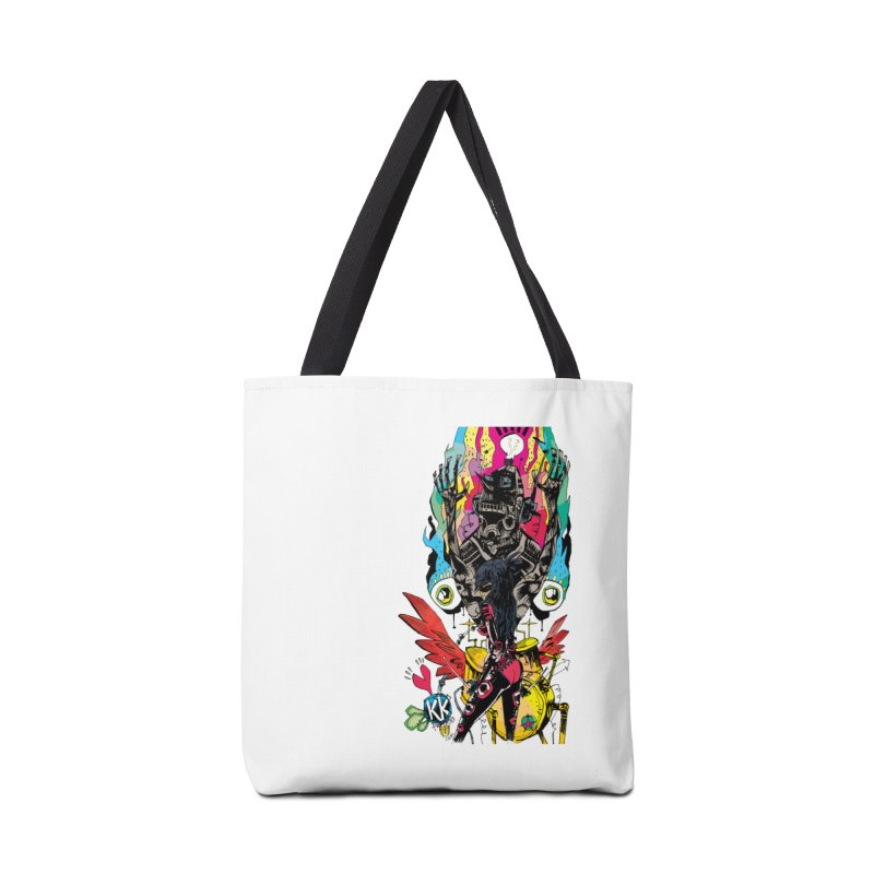 Kirby Krackle - Electric Man Logo Accessories Bag by Kirby Krackle's Artist Shop