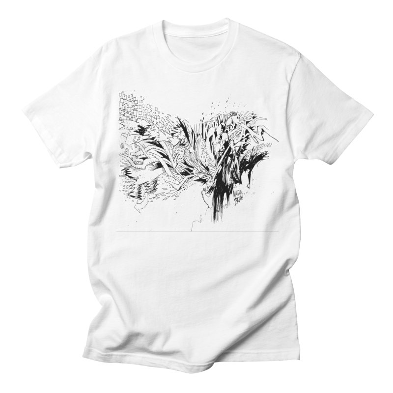 Kirby Krackle - MUTATE, BABY! B&W Cover Image Men's Regular T-Shirt by Kirby Krackle's Artist Shop