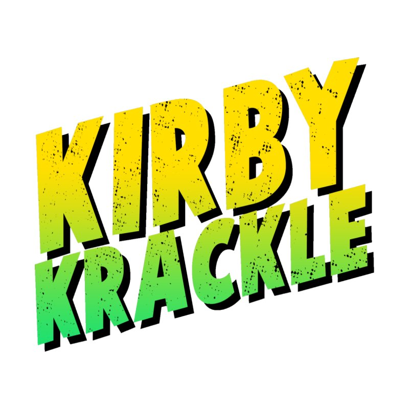 Kirby Krackle - Block Logo by Kirby Krackle's Artist Shop