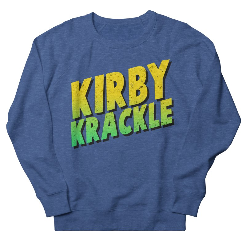 Kirby Krackle - Block Logo Men's Sweatshirt by Kirby Krackle's Artist Shop