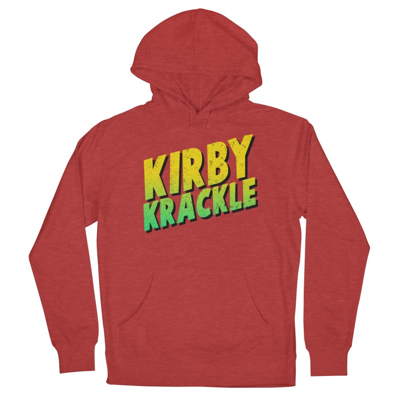 Kirby Krackle - Block Logo Men's Pullover Hoody by Kirby Krackle's Artist Shop