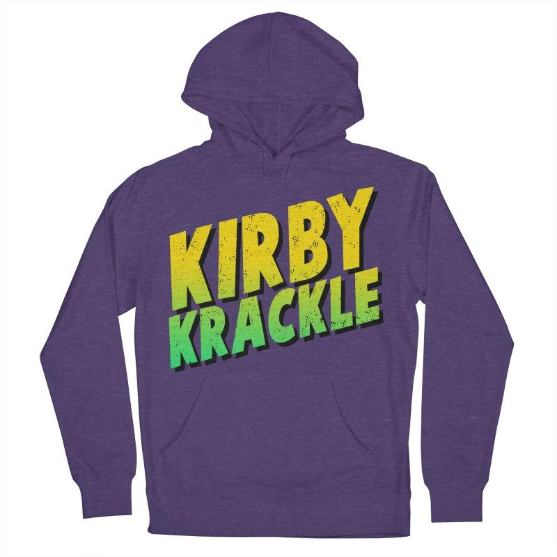 Kirby Krackle - Block Logo Women's French Terry Pullover Hoody by Kirby Krackle's Artist Shop