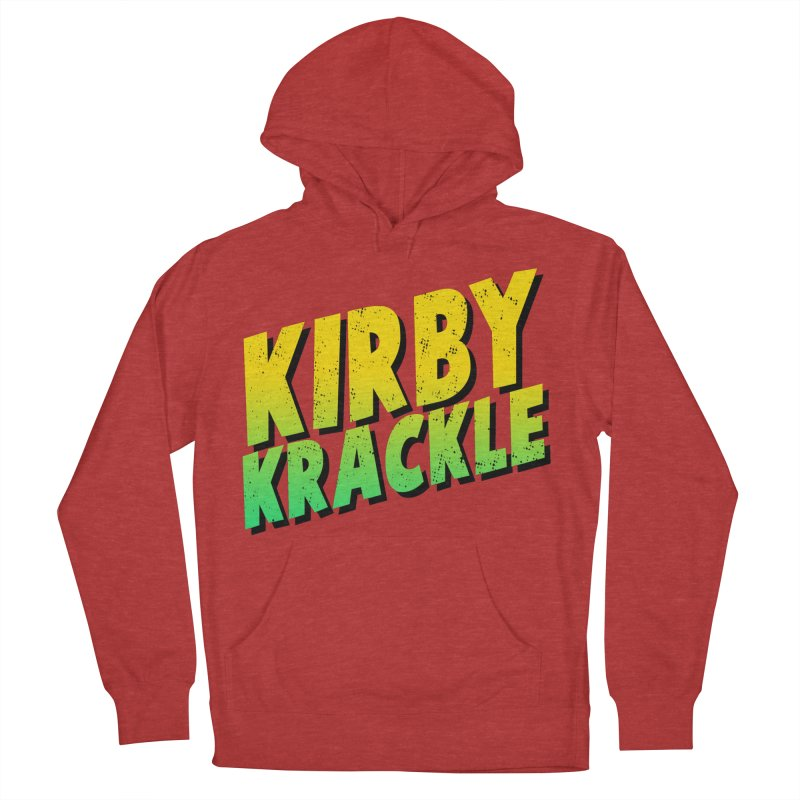 Kirby Krackle - Block Logo Women's Pullover Hoody by Kirby Krackle's Artist Shop