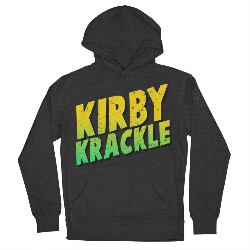 Kirby Krackle - Block Logo Men's Pullover Hoody by Kirby Krackle's Artist Shop