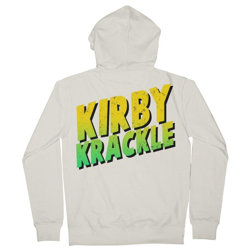 Kirby Krackle - Block Logo Women's Zip-Up Hoody by Kirby Krackle's Artist Shop
