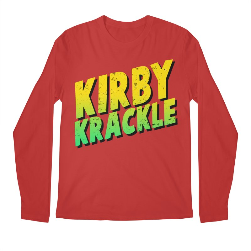 Kirby Krackle - Block Logo Men's Regular Longsleeve T-Shirt by Kirby Krackle's Artist Shop