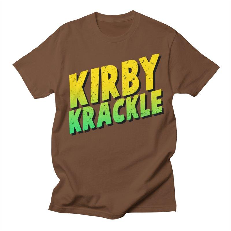 Kirby Krackle - Block Logo Women's Unisex T-Shirt by Kirby Krackle's Artist Shop
