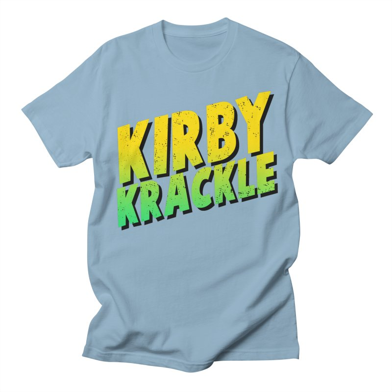 Kirby Krackle - Block Logo Men's T-Shirt by Kirby Krackle's Artist Shop