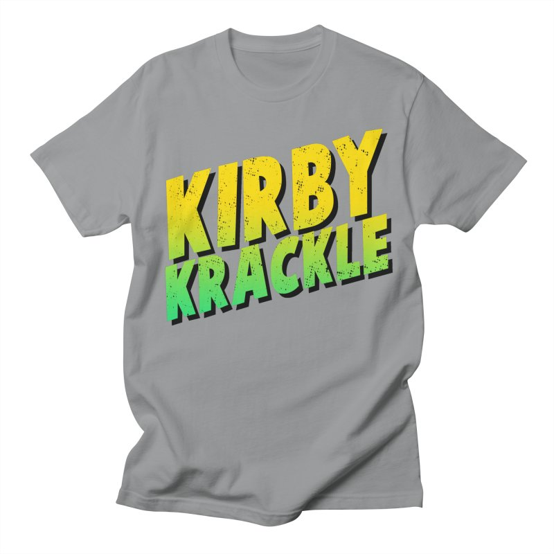 Kirby Krackle - Block Logo Men's Regular T-Shirt by Kirby Krackle's Artist Shop