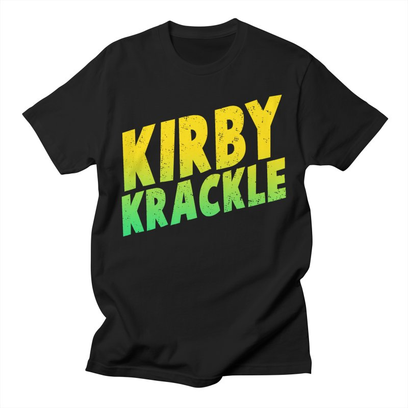 Kirby Krackle - Block Logo Men's T-Shirt by Kirby Krackle's Artist Shop