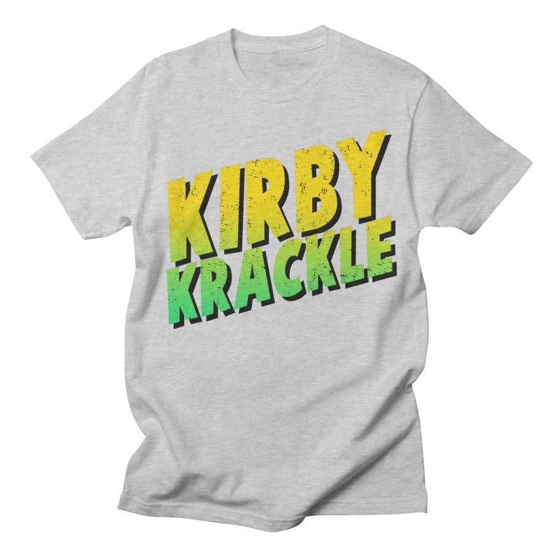 Kirby Krackle - Block Logo Women's Regular Unisex T-Shirt by Kirby Krackle's Artist Shop