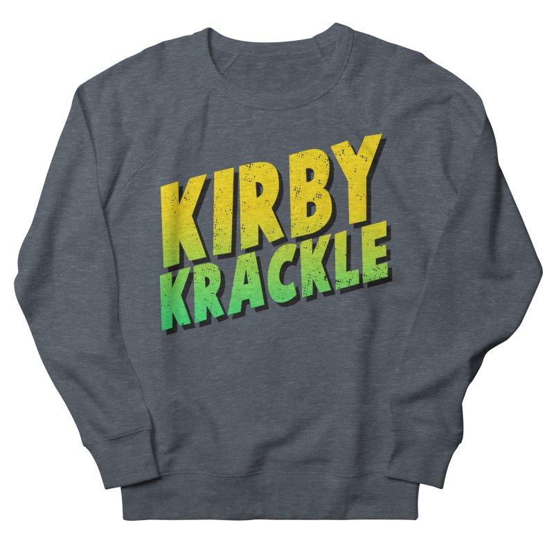 Kirby Krackle - Block Logo Women's French Terry Sweatshirt by Kirby Krackle's Artist Shop
