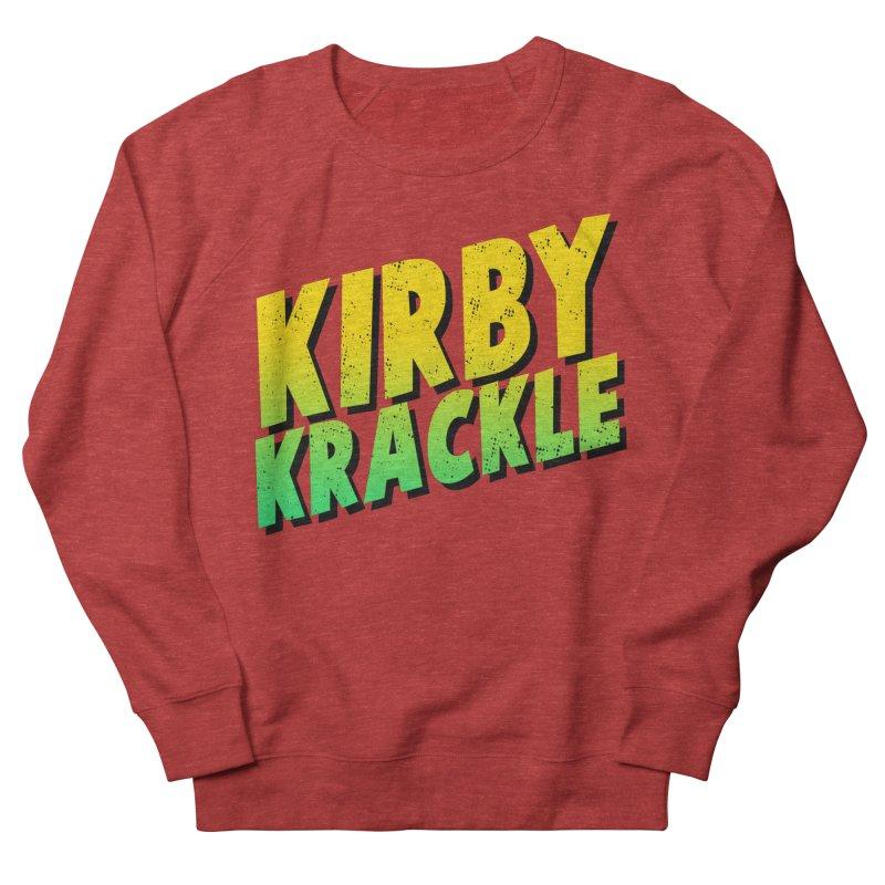 Kirby Krackle - Block Logo Women's Sweatshirt by Kirby Krackle's Artist Shop