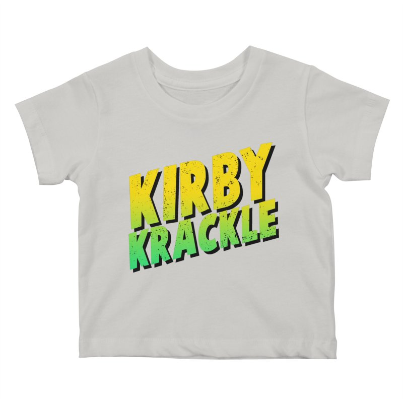 Kirby Krackle - Block Logo Kids Baby T-Shirt by Kirby Krackle's Artist Shop