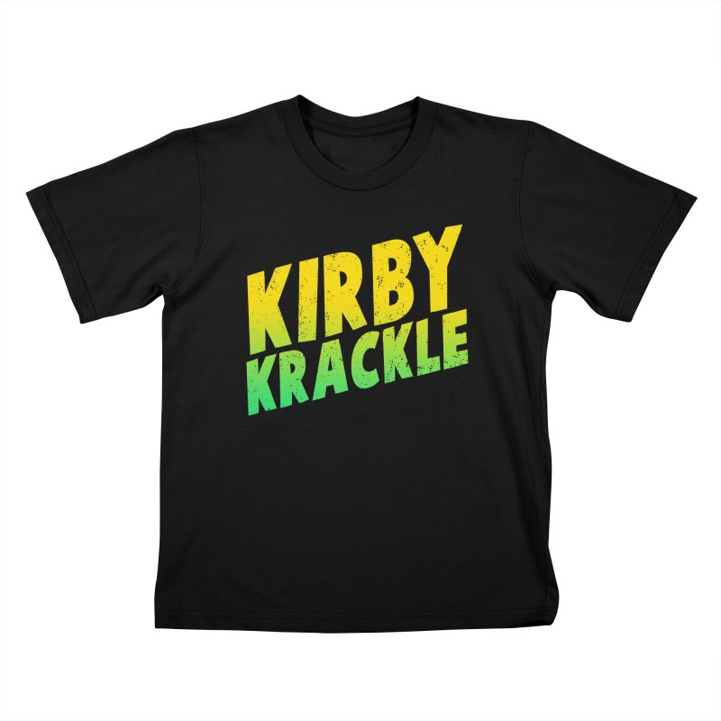 Kirby Krackle - Block Logo Kids T-Shirt by Kirby Krackle's Artist Shop