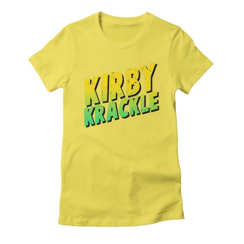 Kirby Krackle - Block Logo Women's T-Shirt by Kirby Krackle's Artist Shop