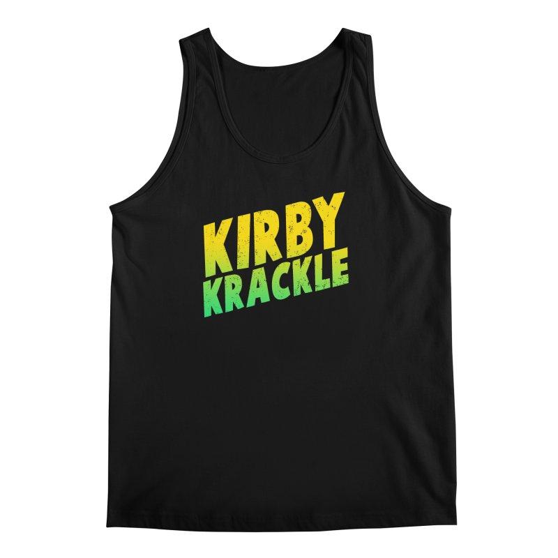Kirby Krackle - Block Logo Men's Tank by Kirby Krackle's Artist Shop