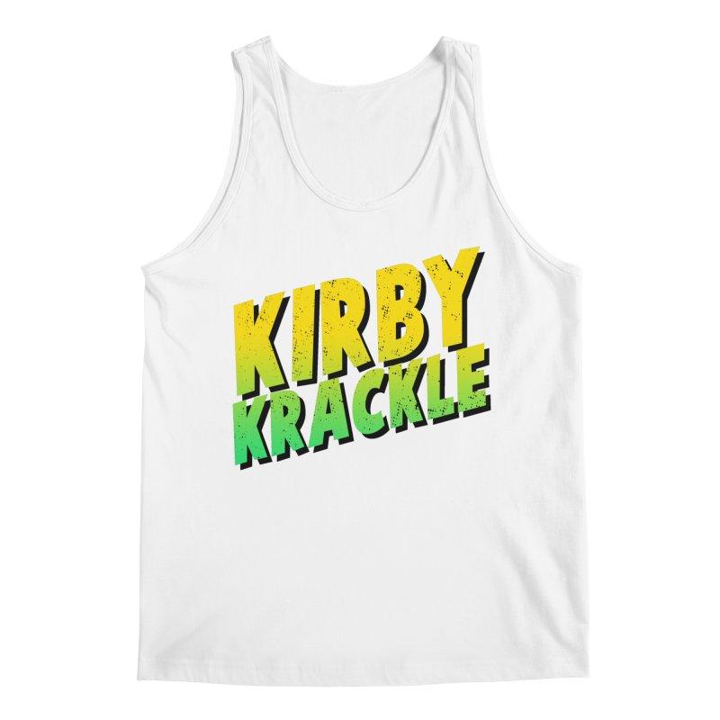 Kirby Krackle - Block Logo Men's Regular Tank by Kirby Krackle's Artist Shop