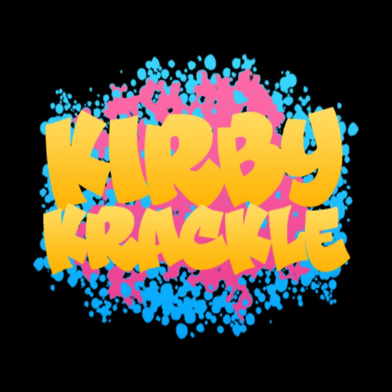 Kirby Krackle - Harajuku Logo Kids Baby Zip-Up Hoody by Kirby Krackle's Artist Shop