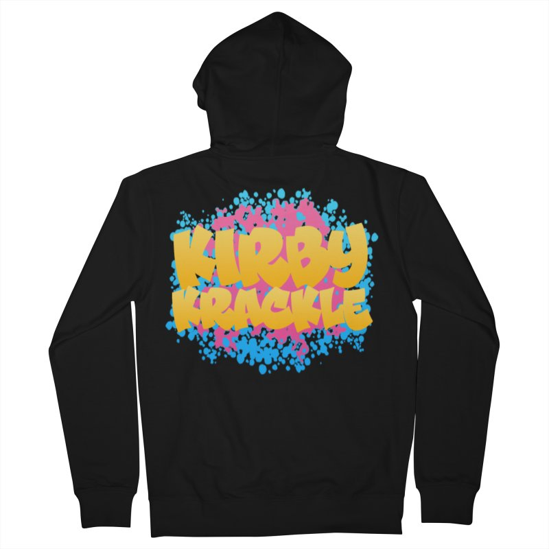 Kirby Krackle - Harajuku Logo Women's French Terry Zip-Up Hoody by Kirby Krackle's Artist Shop