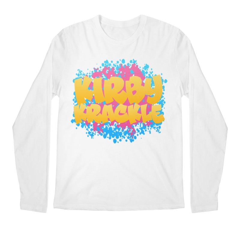 Kirby Krackle - Harajuku Logo Men's Regular Longsleeve T-Shirt by Kirby Krackle's Artist Shop