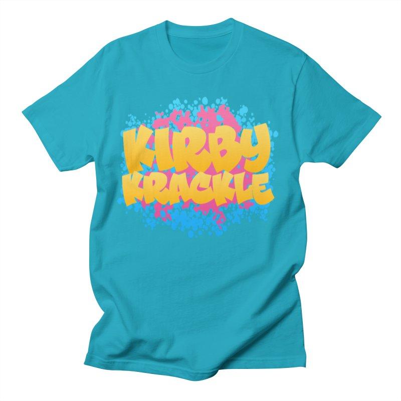 Kirby Krackle - Harajuku Logo Men's T-Shirt by Kirby Krackle's Artist Shop