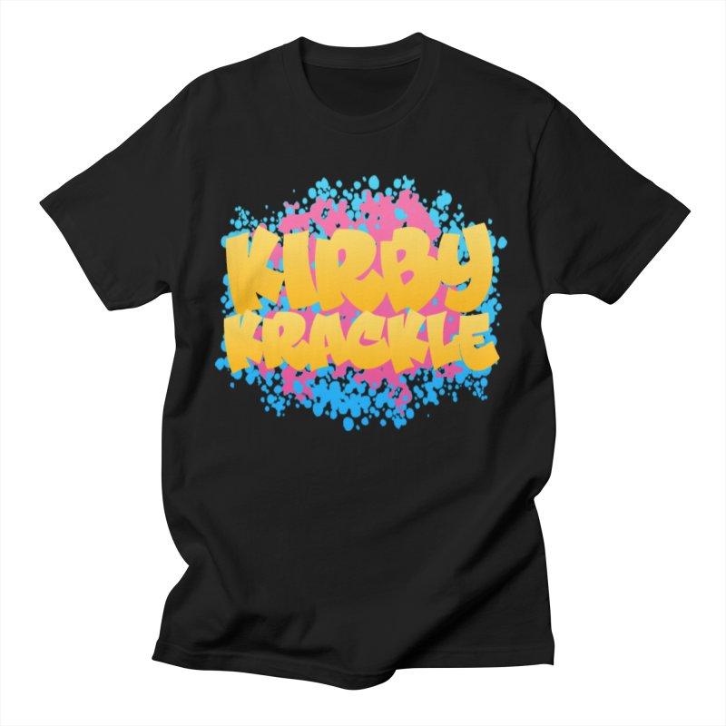 Kirby Krackle - Harajuku Logo Women's Regular Unisex T-Shirt by Kirby Krackle's Artist Shop