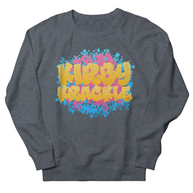 Kirby Krackle - Harajuku Logo Men's French Terry Sweatshirt by Kirby Krackle's Artist Shop