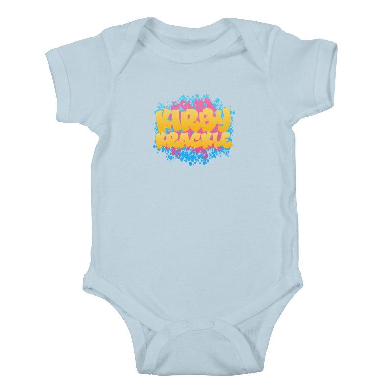Kirby Krackle - Harajuku Logo Kids Baby Bodysuit by Kirby Krackle's Artist Shop