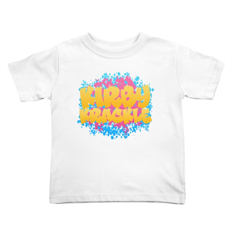 Kirby Krackle - Harajuku Logo Kids Toddler T-Shirt by Kirby Krackle's Artist Shop