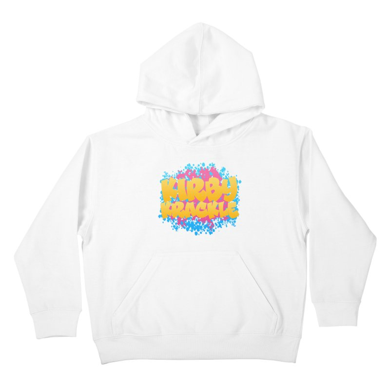 Kirby Krackle - Harajuku Logo Kids Pullover Hoody by Kirby Krackle's Artist Shop