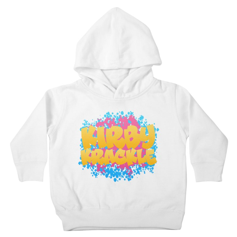 Kirby Krackle - Harajuku Logo Kids Toddler Pullover Hoody by Kirby Krackle's Artist Shop