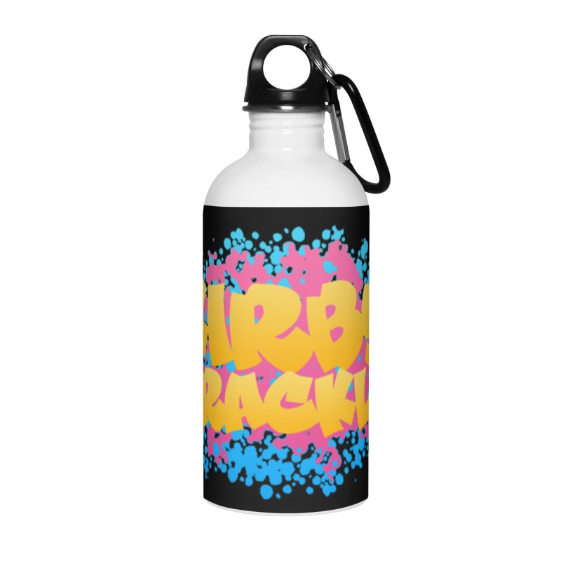 Kirby Krackle - Harajuku Logo Accessories Water Bottle by Kirby Krackle's Artist Shop