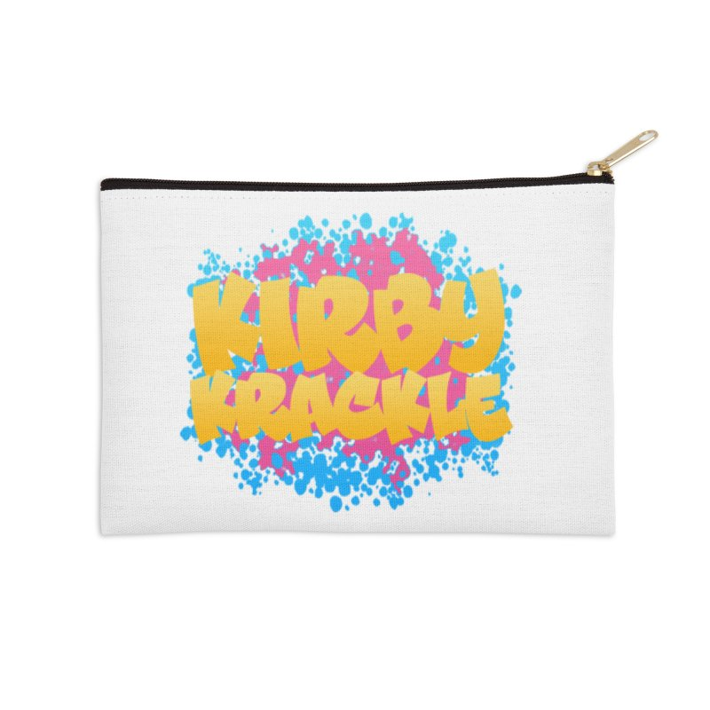 Kirby Krackle - Harajuku Logo Accessories Zip Pouch by Kirby Krackle's Artist Shop