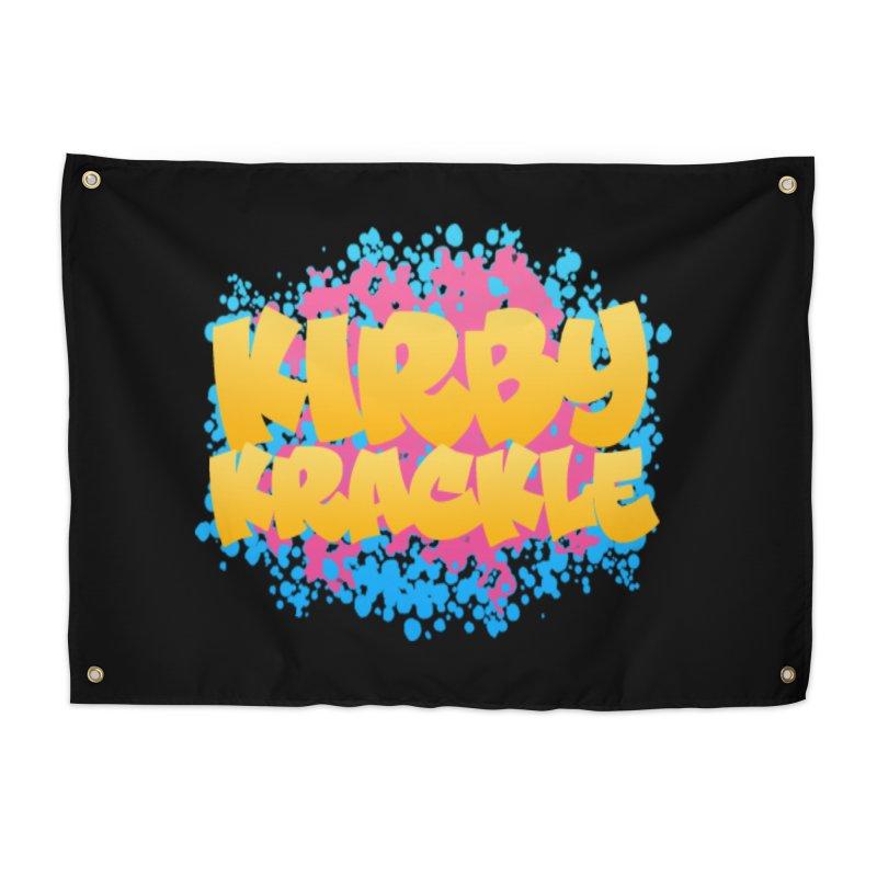 Kirby Krackle - Harajuku Logo Home Tapestry by Kirby Krackle's Artist Shop