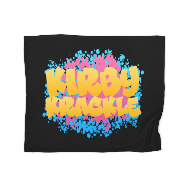 Kirby Krackle - Harajuku Logo Home Blanket by Kirby Krackle's Artist Shop
