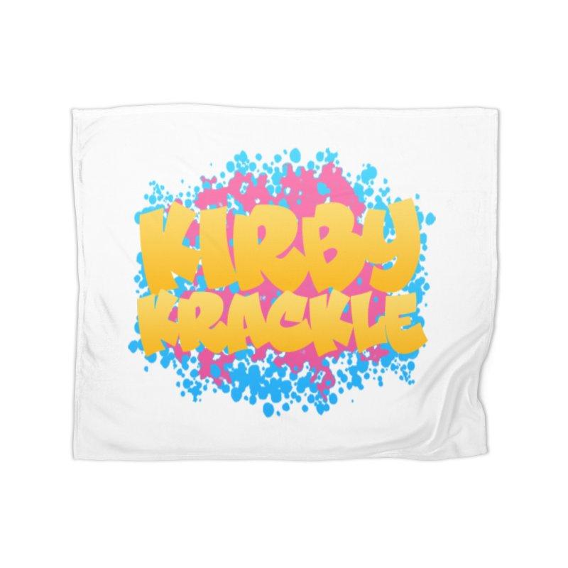 Kirby Krackle - Harajuku Logo Home Blanket by Kirby Krackle's Artist Shop